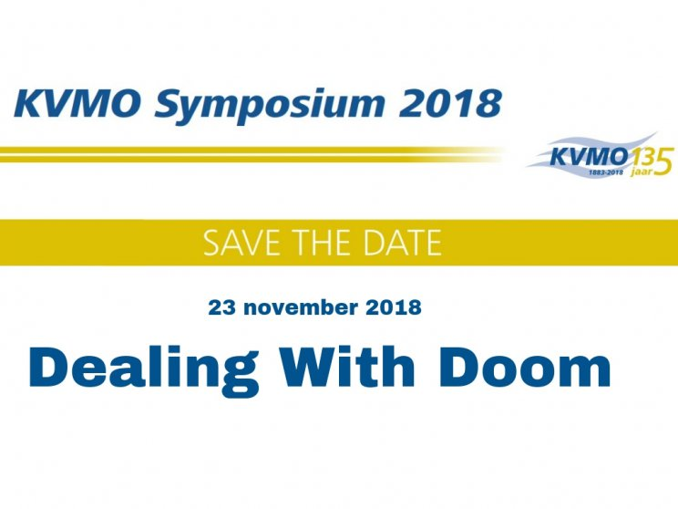 Save the date - KVMO Symposium 2018